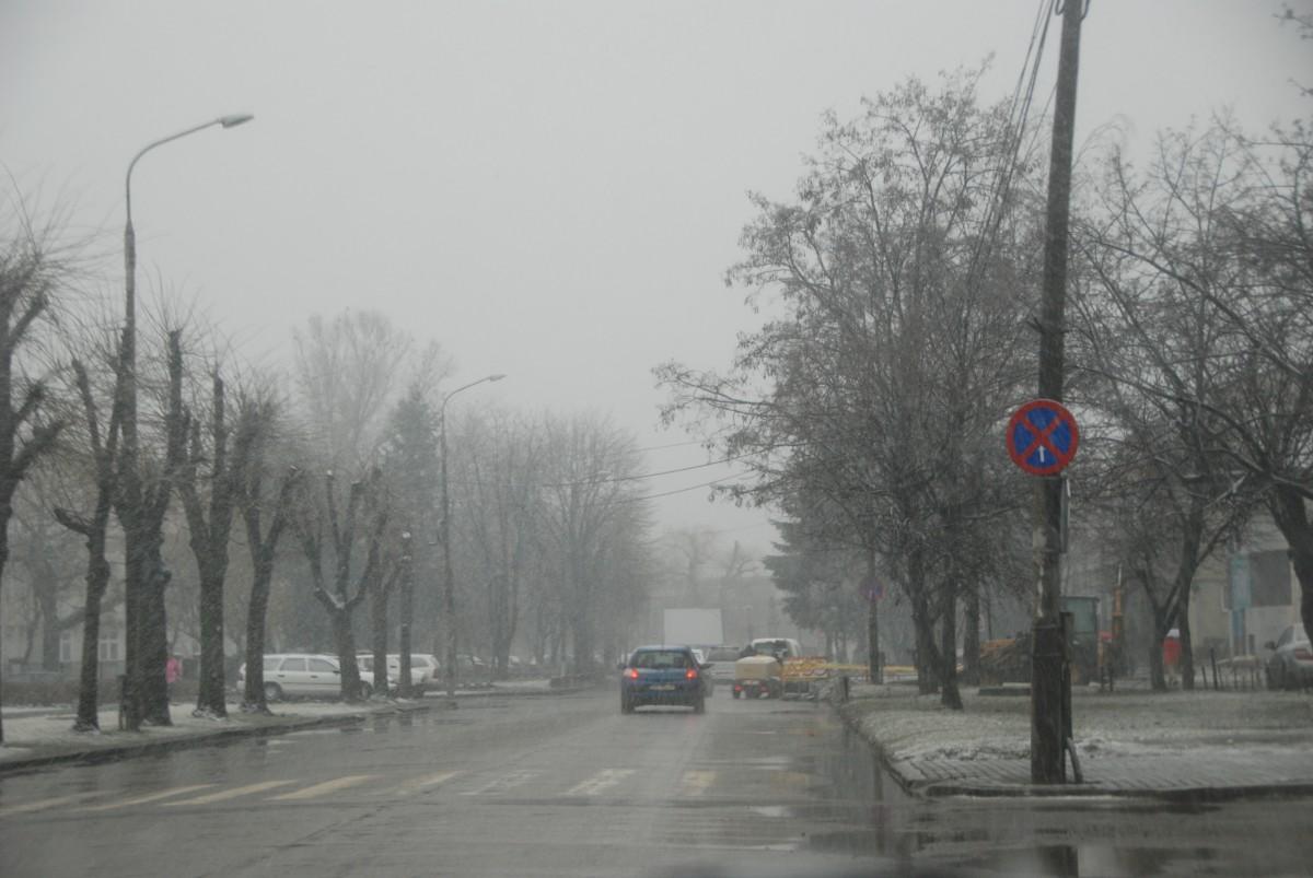 Meteorologii anunță ninsori în week-end, în județul Sibiu