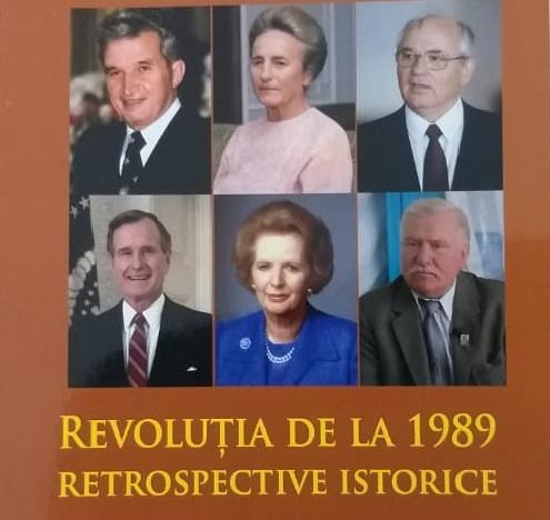 """Despre revoluția din Decembrie 1989 într-un nou volum istoric al Liceului """"Gheorghe Lazăr"""" Avrig"""
