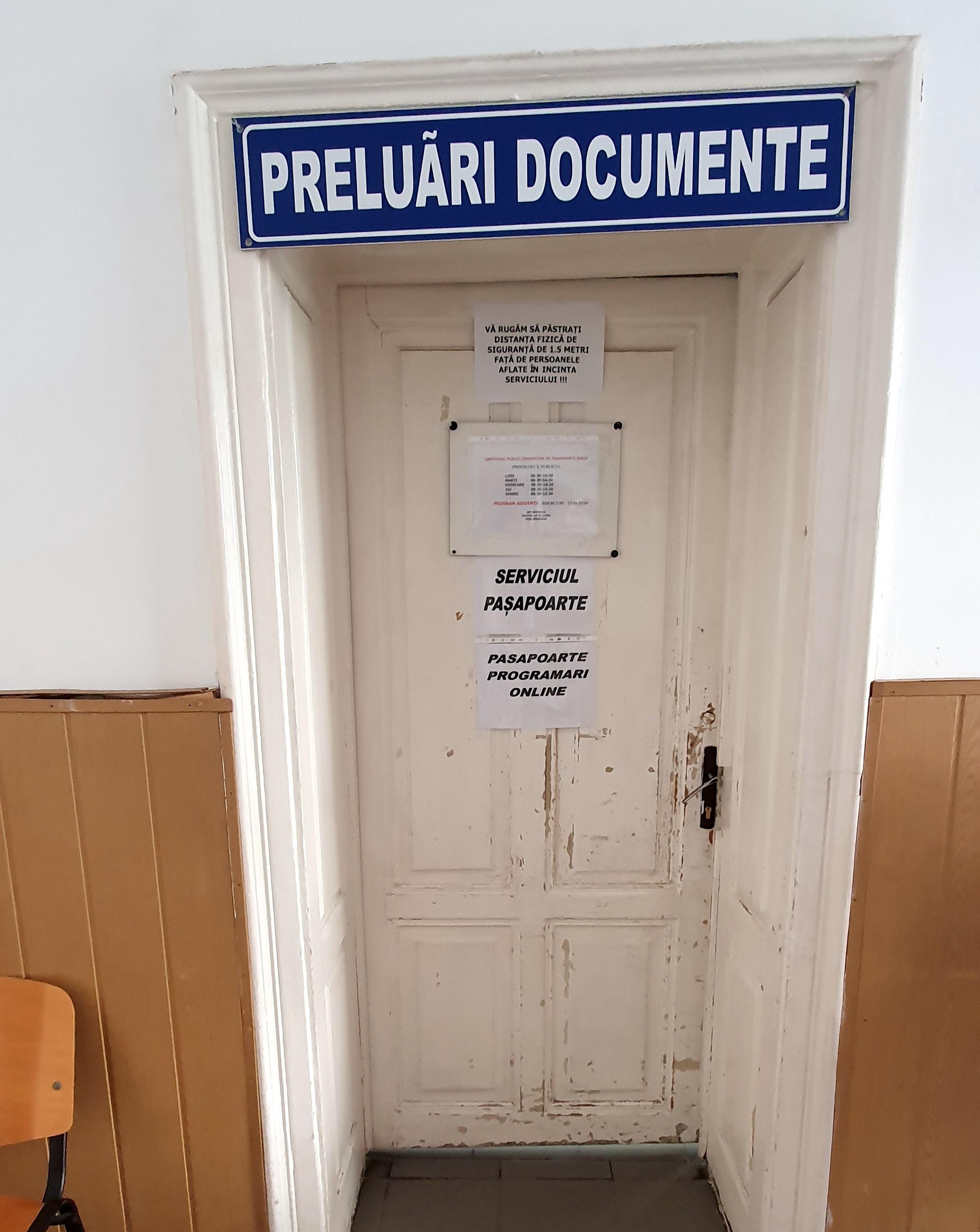 Serviciul pașapoarte din Sibiu se închide