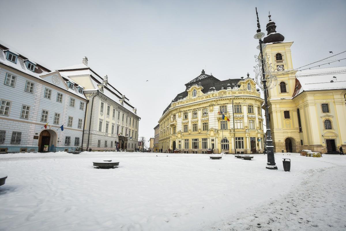 Primăria Sibiu, pregătită pentru deszăpezire