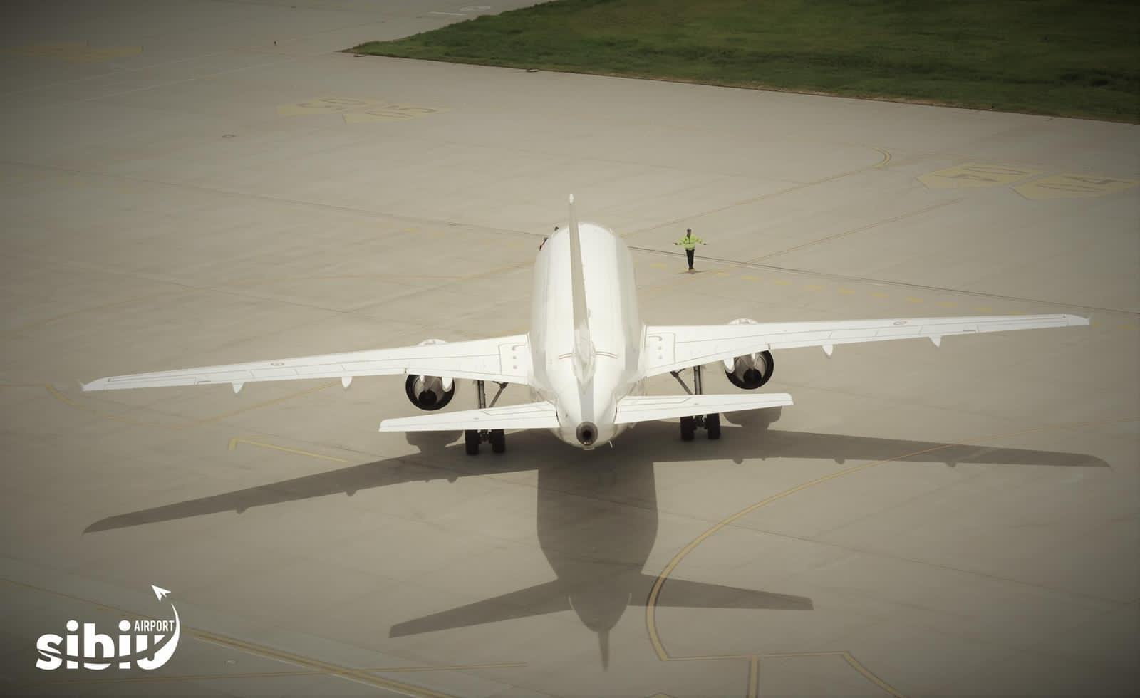 1,7 milioane de euro acordați de Consiliul Județean Sibiu companiilor aeriene care operează pe Aeroportul Internațional Sibiu - schema de ajutor de stat aprobată de Comisia Europeană