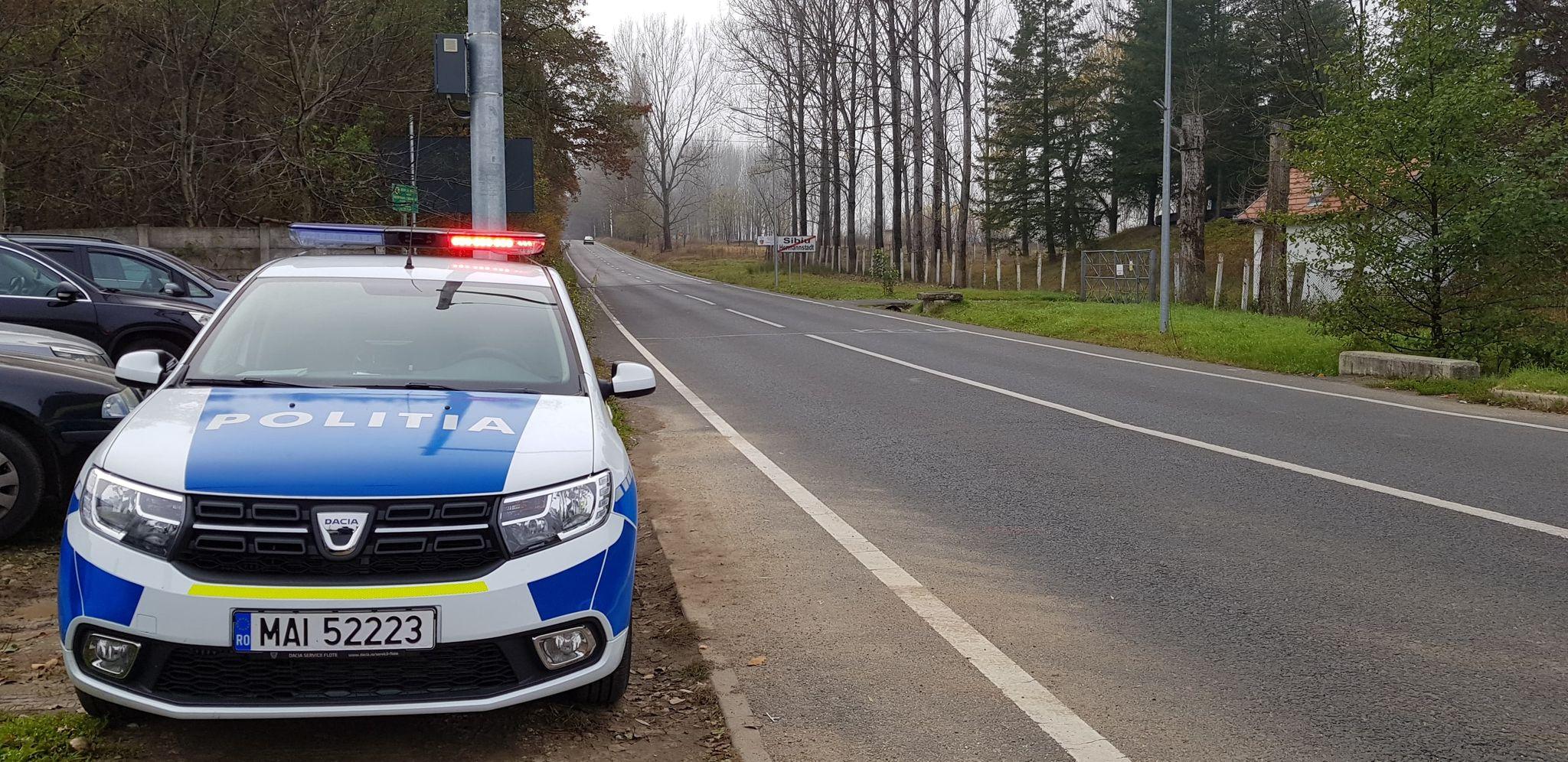 Poliția anunță restricții de trafic în zonele celor trei noi localități carantinate: Mediaș, Avrig și Orlat