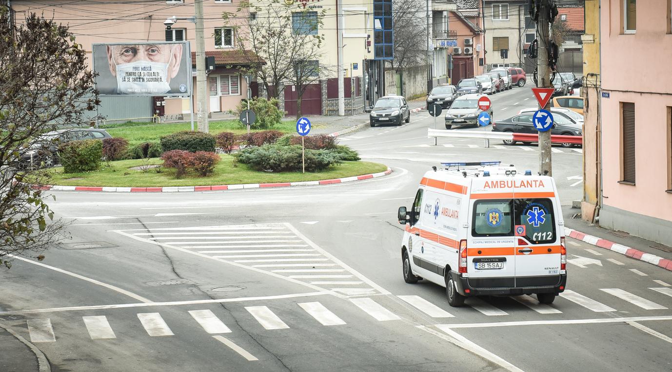 Situația în fiecare localitate: Șelimbărul are 12,16 rată de infectare, orașul Cisnădie, 8,29, iar Mediașul, 8,98