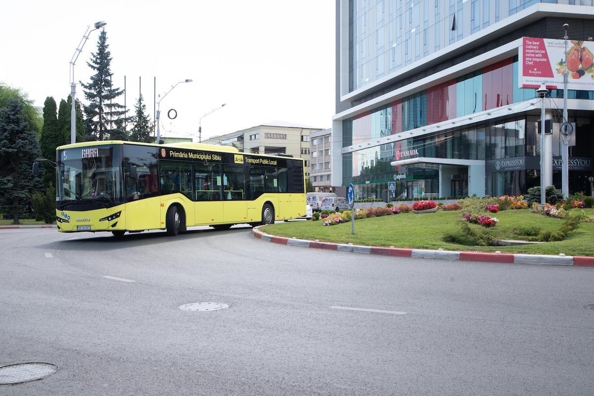 Program special pentru autobuzele Tursib în zilele de 30 noiembrie și 1 decembrie