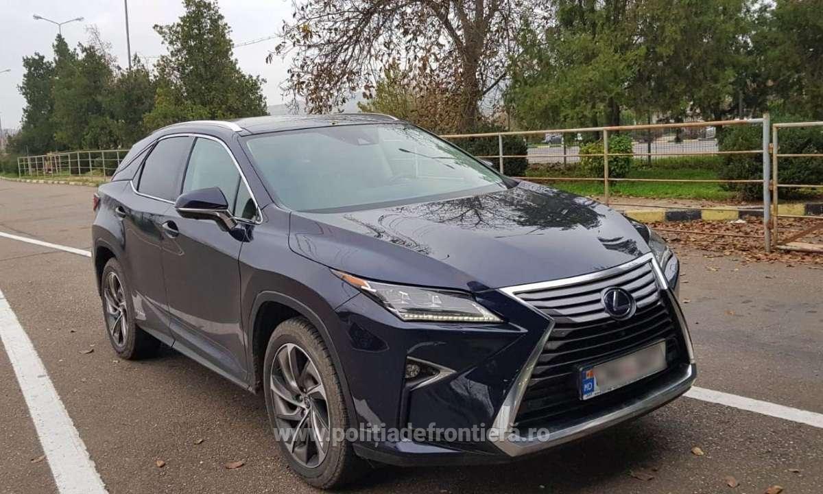 Un Lexus de 50.000 de euro, căutat de autoritățile din două state, confiscat de poliţiştii de frontieră vasluieni