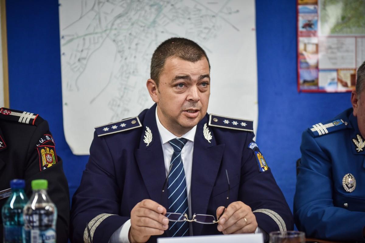 Șeful IPJ Sibiu, confirmat cu coronavirus