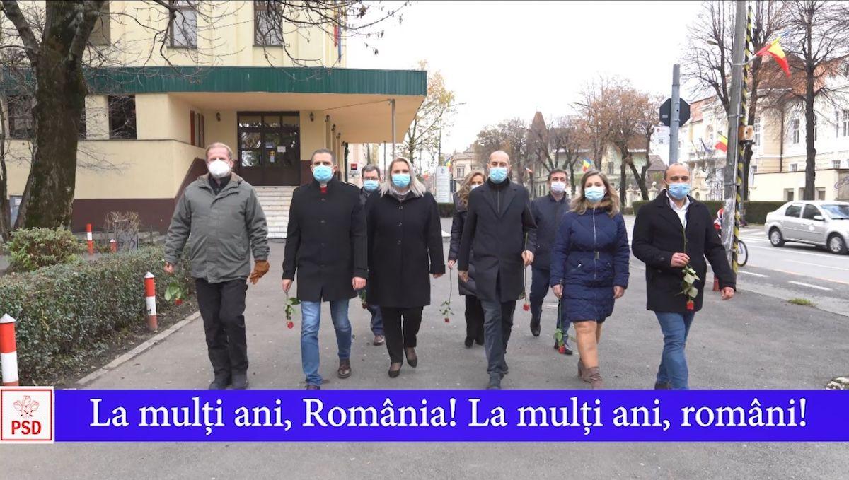 Mesajul PSD Sibiu de Ziua Națională a României