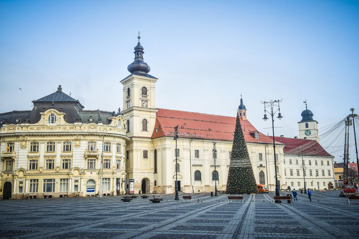 De la 13,43 la 5,43 - rata de infectare în municipiul Sibiu, în a patra săptămână de carantină
