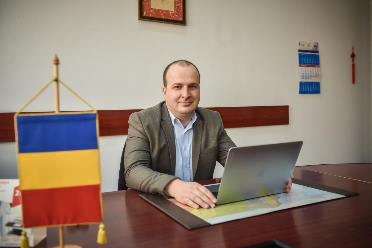 """Cercetătorul Andrei Terian-Dan: """"Pariul meu a fost să reușesc pe plan internațional de aici, din Sibiu"""""""