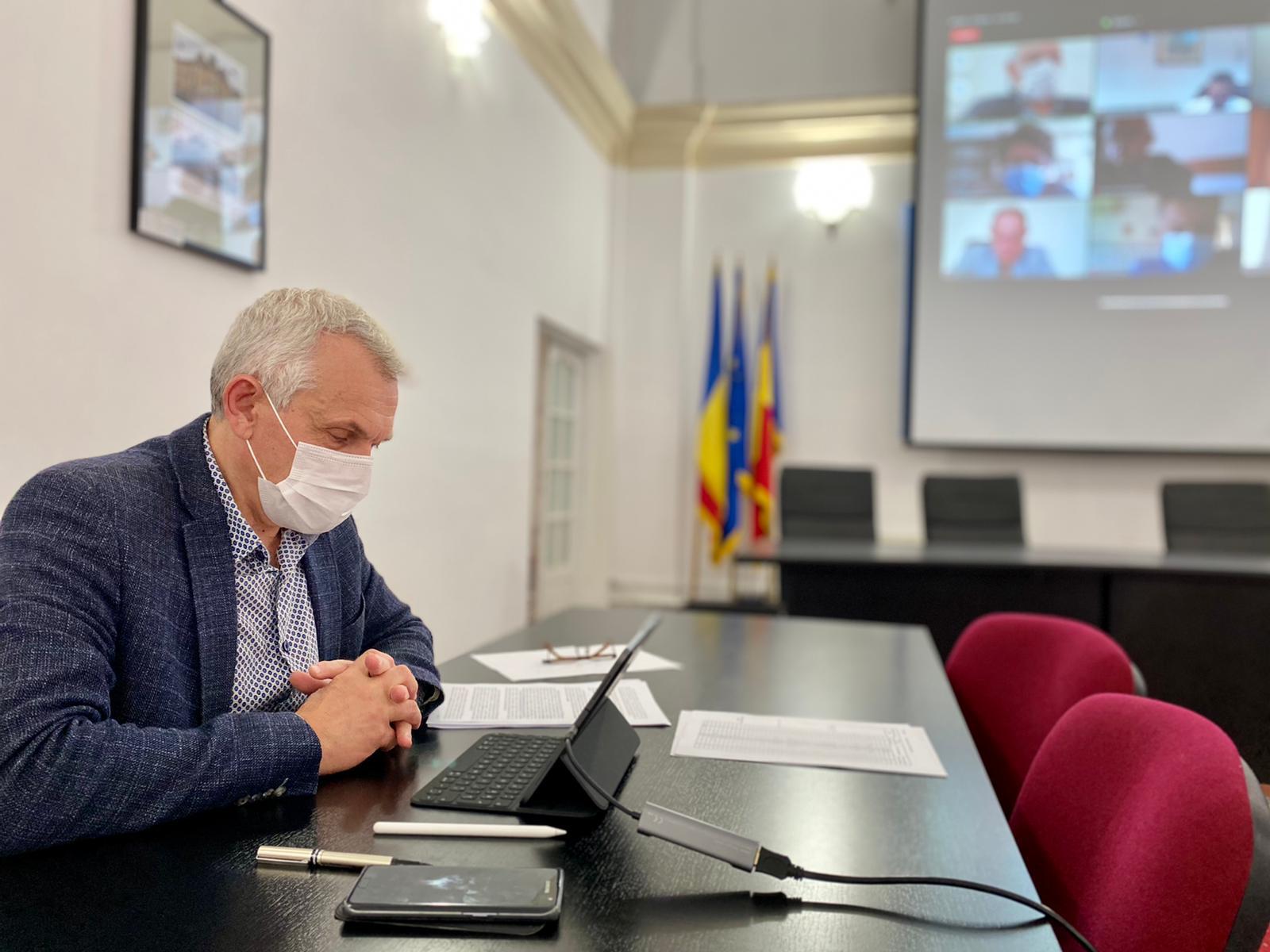 Prefectul Sibiului: De Sărbători stați cât mai mult în familie, să nu trebuiască pe urmă să luăm măsuri
