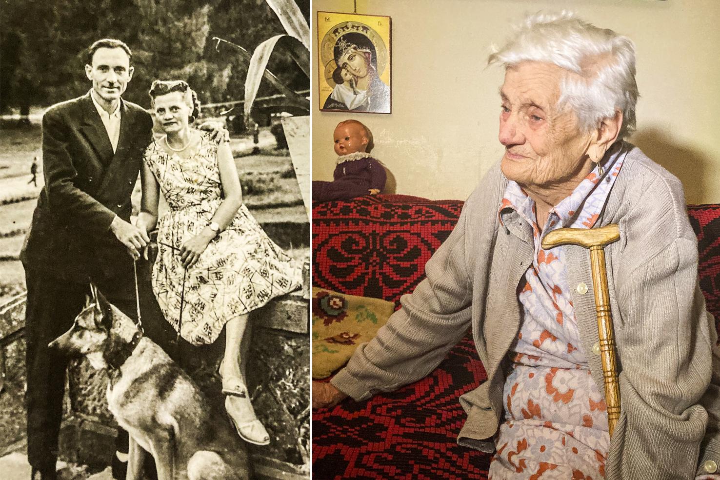 VIDEO/ Îngerul în alb, Elena Țega, la 100 de ani: Mi-am pus traista, aparatele pentru injecții și am plecat pe front