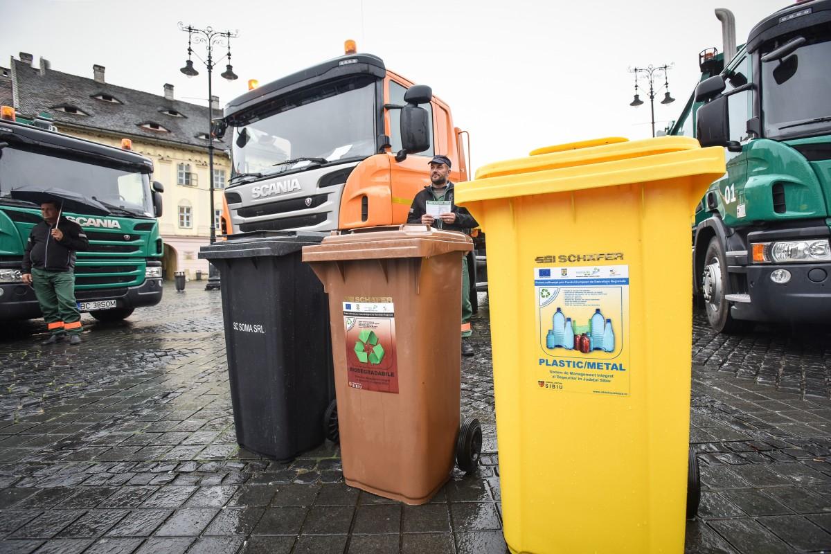 Primăria Sibiu: Dezbatere publică pentru modificarea regulamentului pentru taxa de salubrizare