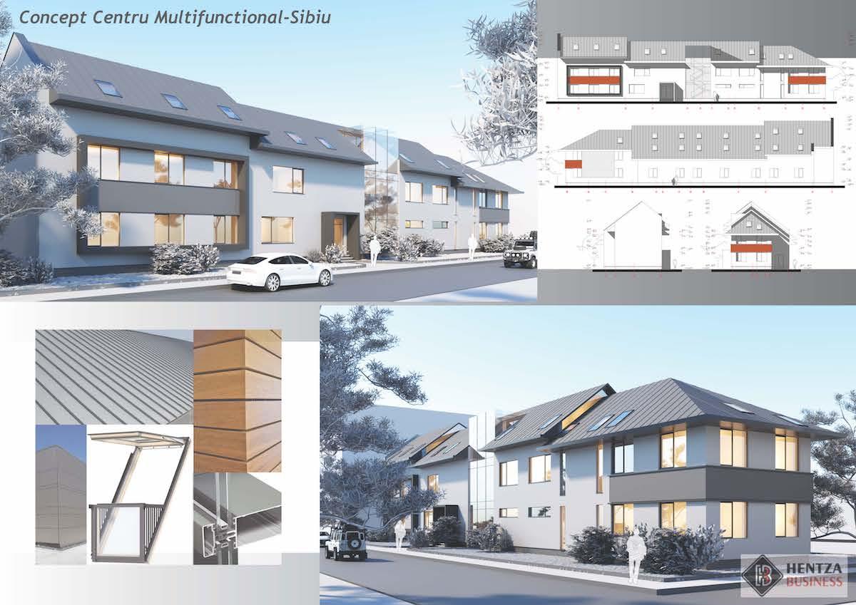 Primăria Sibiu: Începe construcția Centrului Multifuncțional dedicat comunității din zona Henri Coandă - Oțelarilor