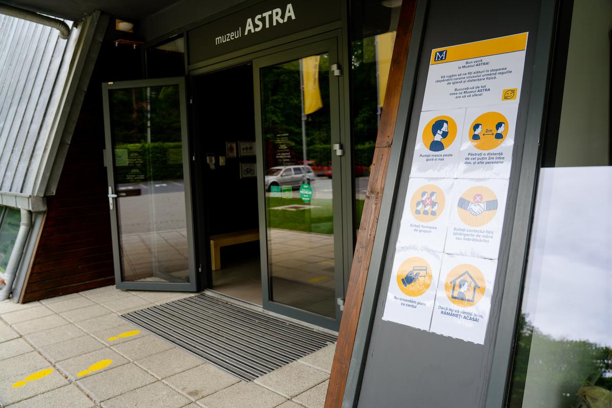 Muzeul Astra rămâne închis până în 7 decembrie
