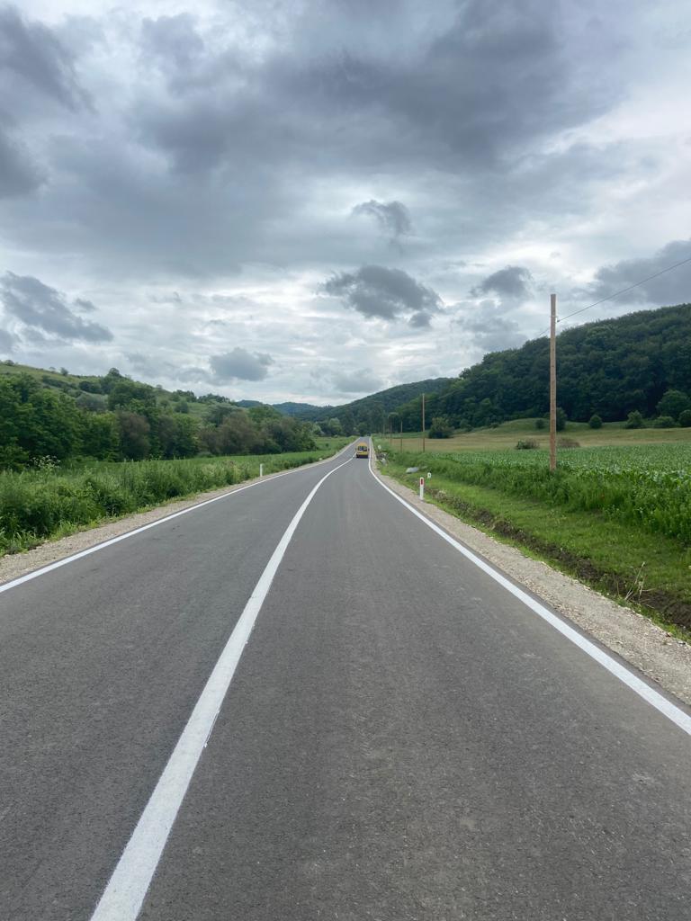Consiliul Județean Sibiu a finalizat modernizarea a două drumuri județene: DJ 141 G Copșa Mică – Motiș și DJ 107 B Păuca – Slimnic