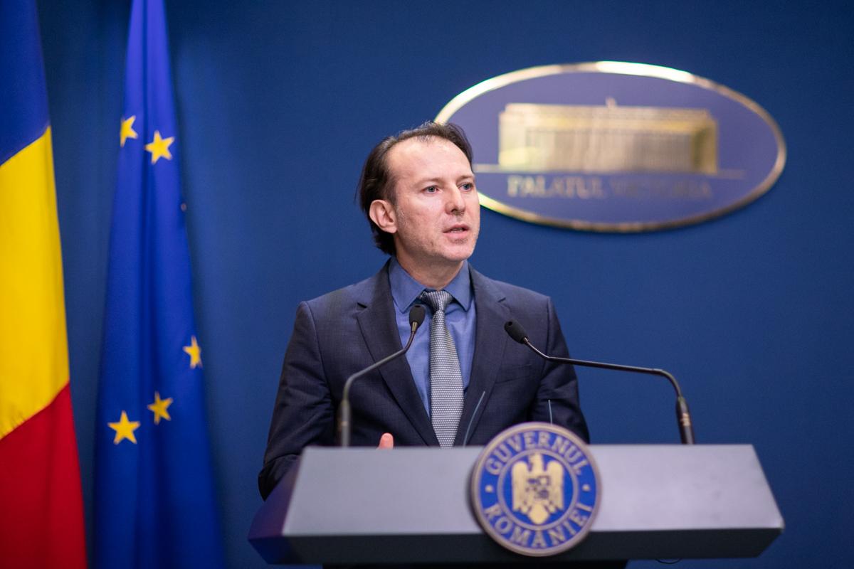 Guvernul Cîțu a fost învestit în Parlament cu 260 de voturi pentru