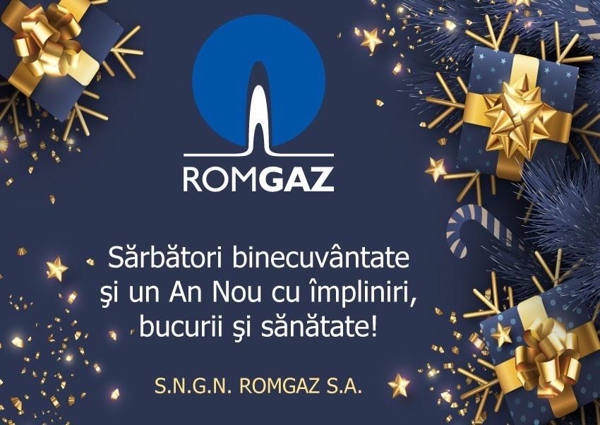 Mesajul de Anul Nou din partea ROMGAZ