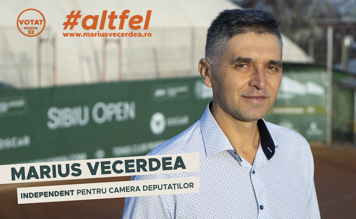 Sportivii sibieni se strâng în jurul candidatului independent, Marius Vecerdea