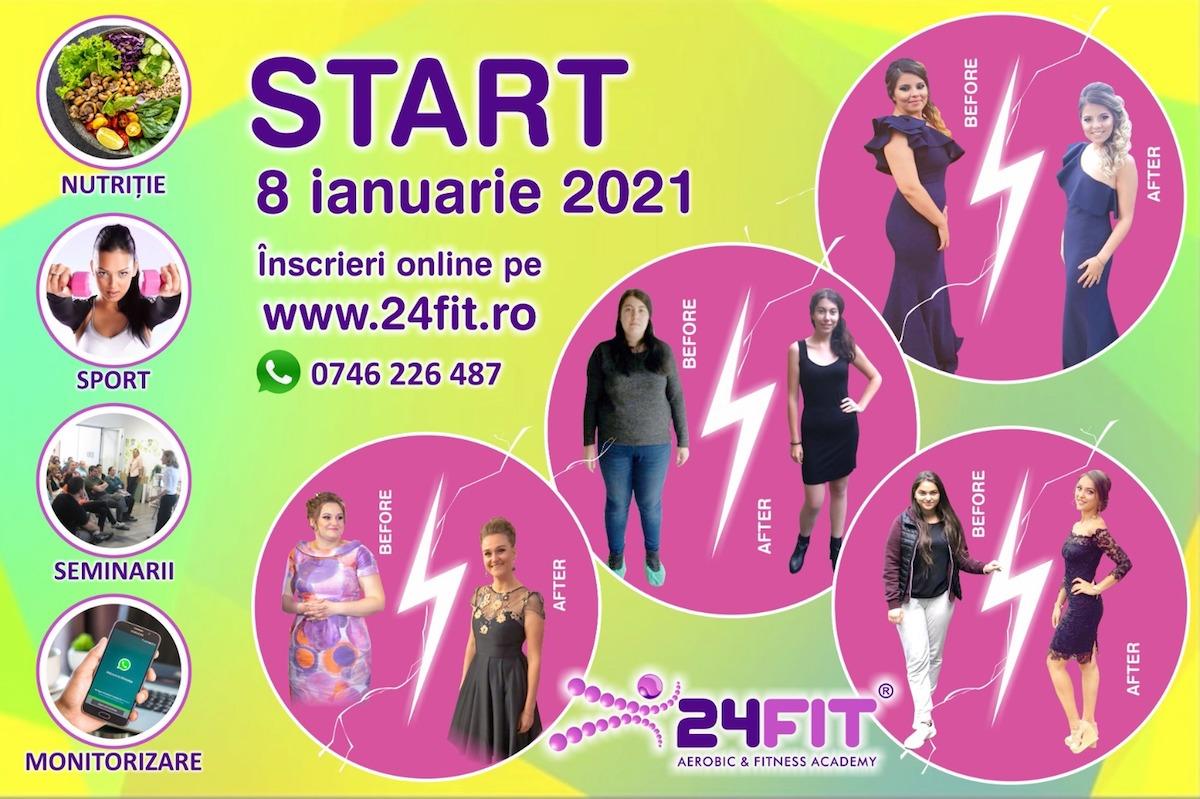 Un nou program de slăbit la 24FIT Aerobic Fitness- Academy, clubul sportiv care îi învață pe sibieni să aibă un stil de viață sănătos