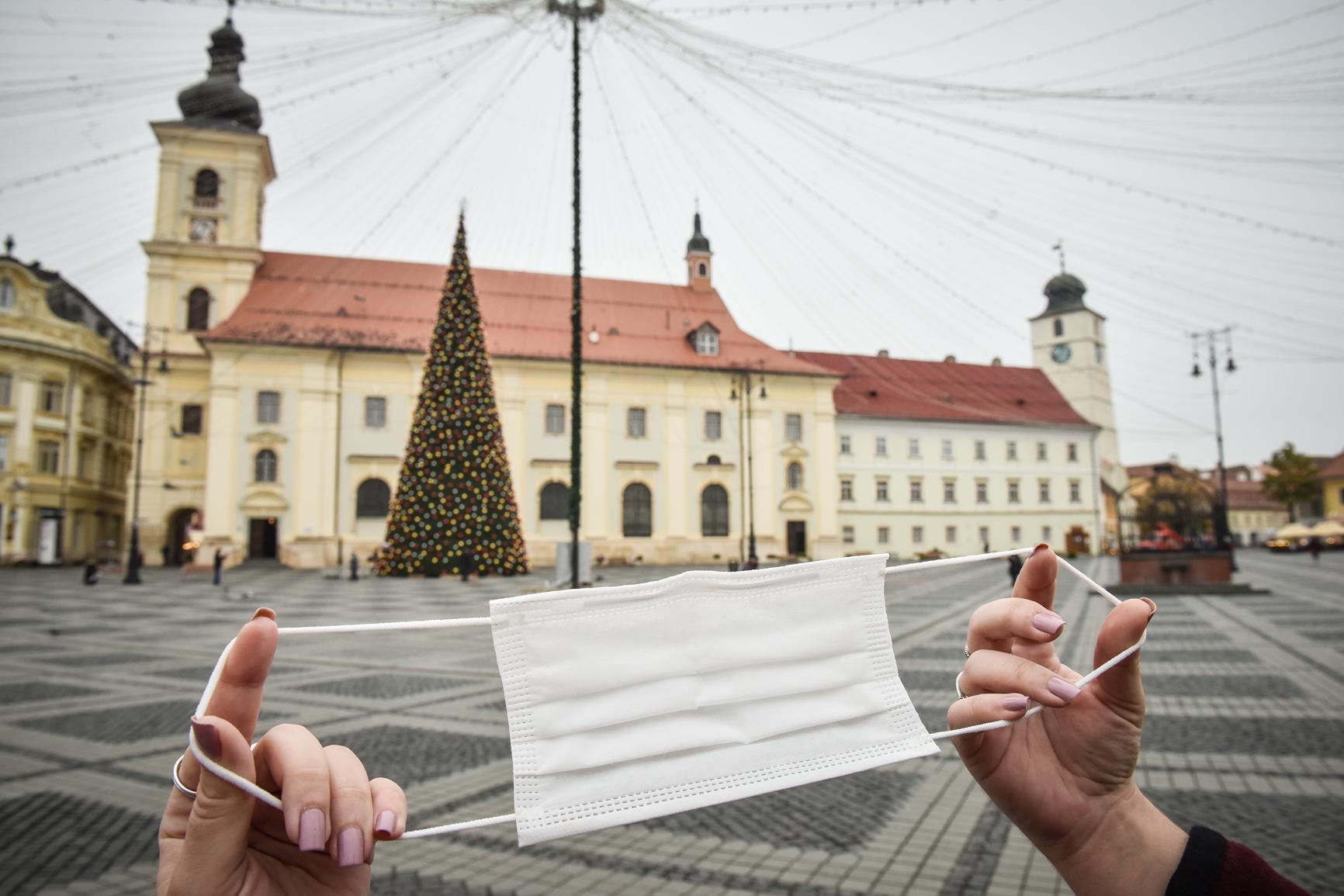 Sibiu: 56 de cazuri noi de coronavirus din 625 de teste, în ultimele 24 de ore