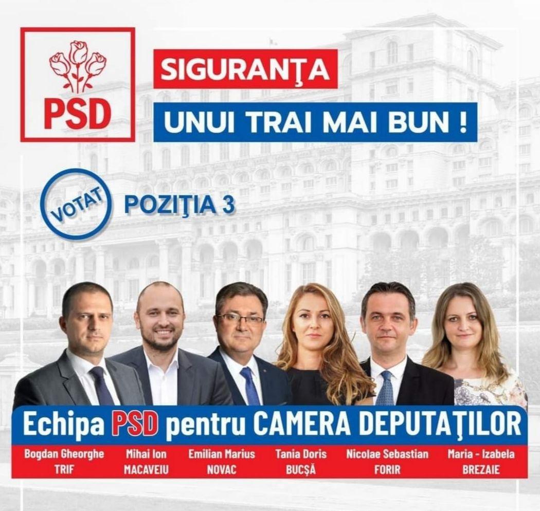 Echipa PSD Sibiu pentru Parlamentul României