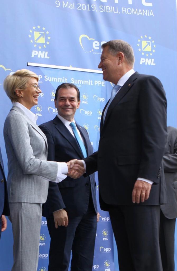 Klaus Iohannis: PNL este partidul care a avut curajul să-şi asume o guvernare ştiind că preia un buget secătuit