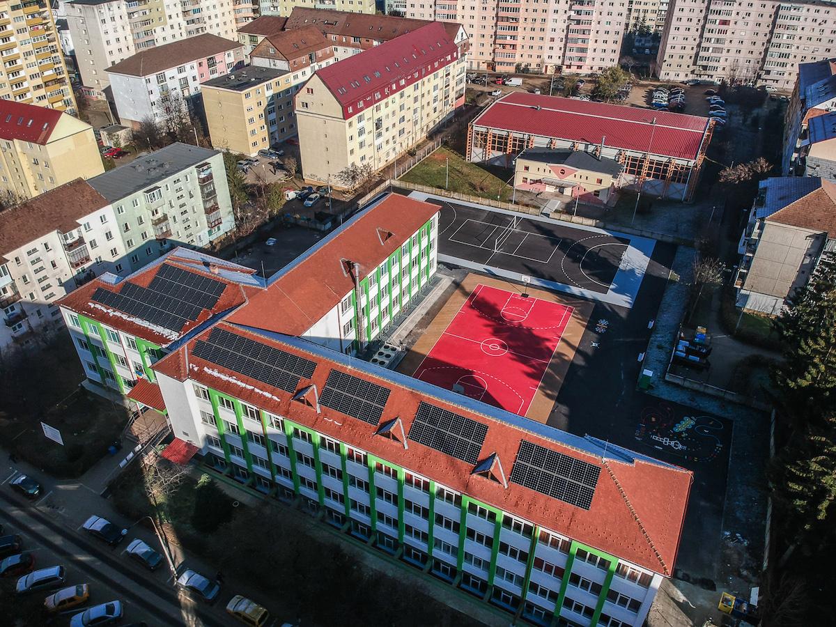 Primăria Sibiu: Liceul Constantin Noica, modernizat și mai eficient energetic