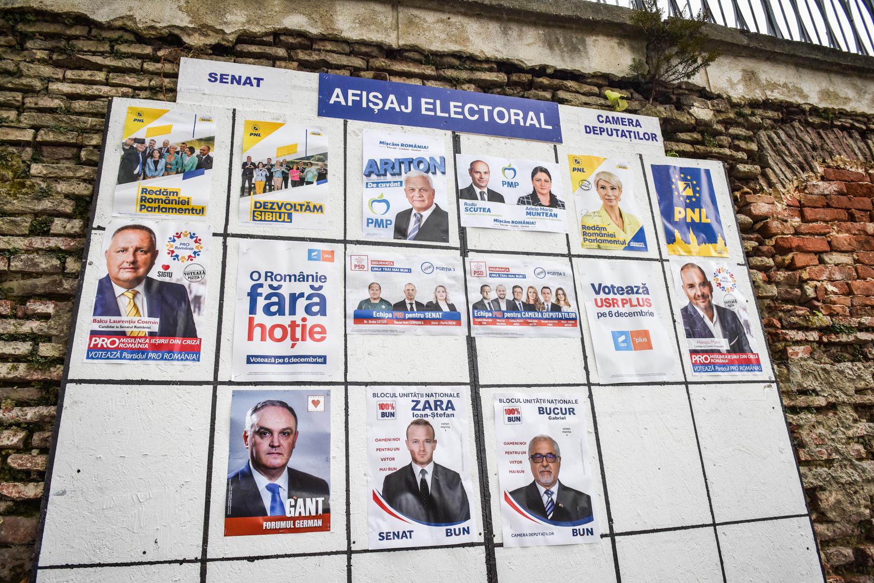 PSD, votat majoritar în cinci localități. USR PLUS în două, AUR în una, iar PNL în restul