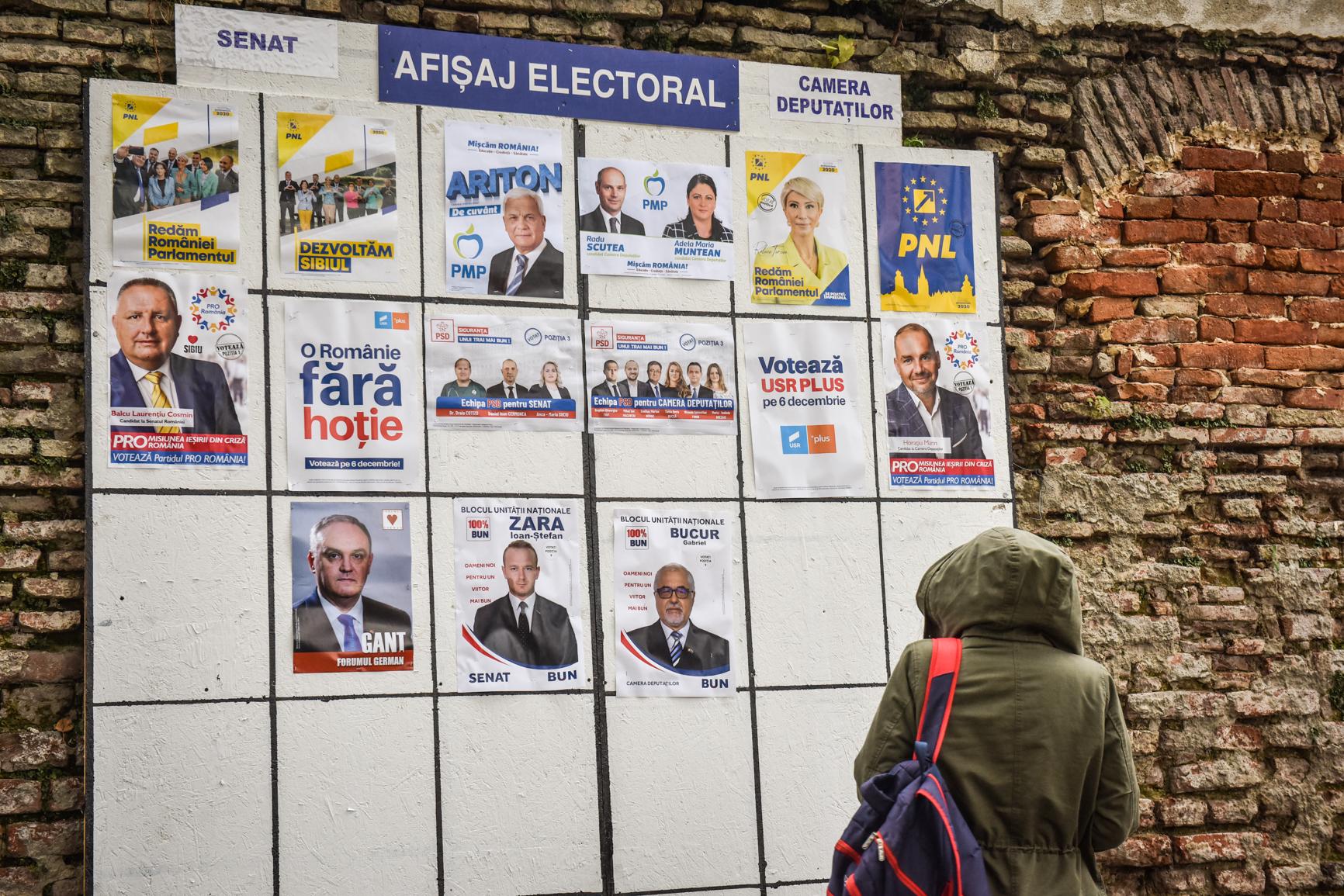 Rezultatele alegerilor după numărarea a peste 90% din voturi în Sibiu și în țară