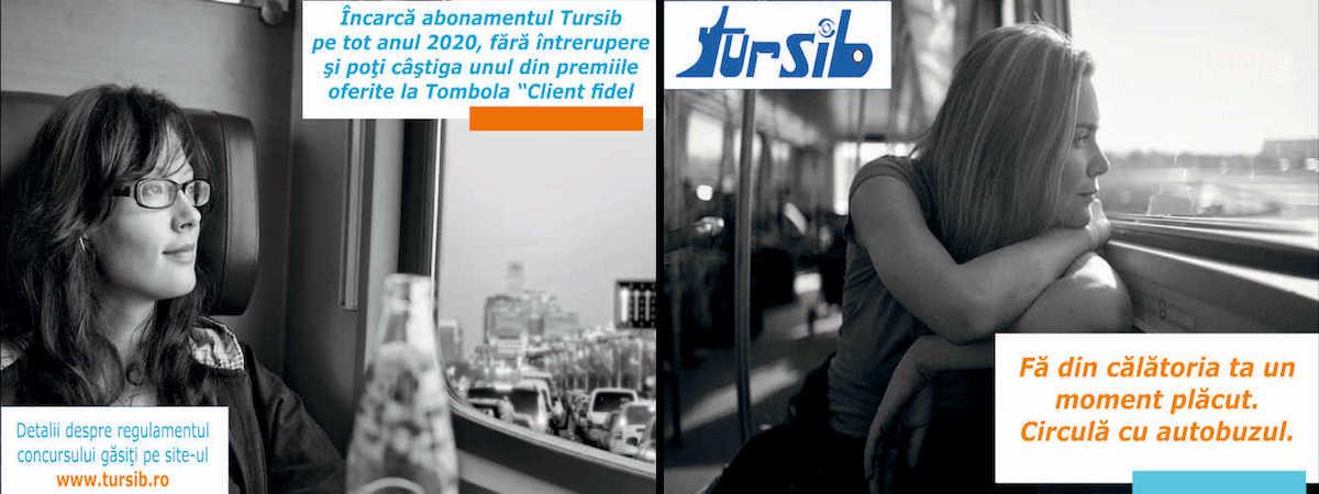 Tursib organizează tombolă cu premii pentru călători
