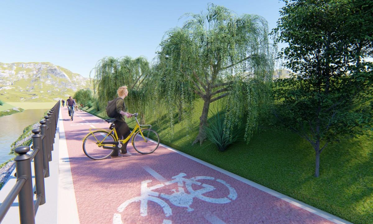Primăria Sibiu a primit finanțare pentru amenajarea a 6 kmde piste sigure pentru biciclete