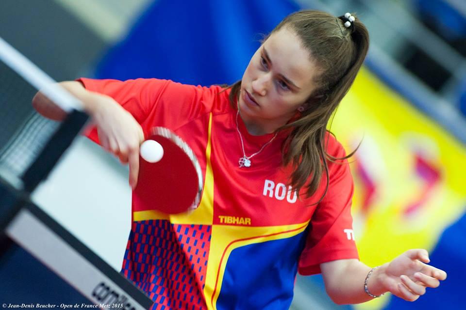 Andreea Dragoman, junioara de aur. Evoluţie entuziasmantӑ și la Campionatul Naţional de Seniori