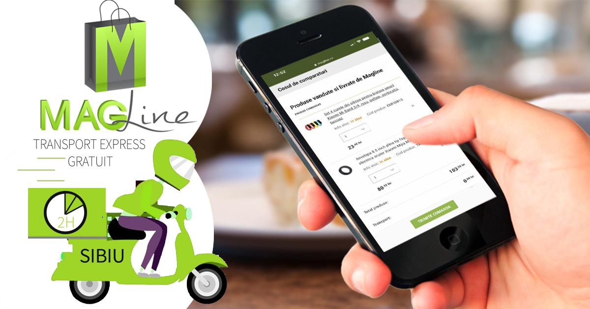 Magazinul online Magline.ro, creat la Sibiu, se extinde rapid în toată România. Investiția depășește un mil. de euro