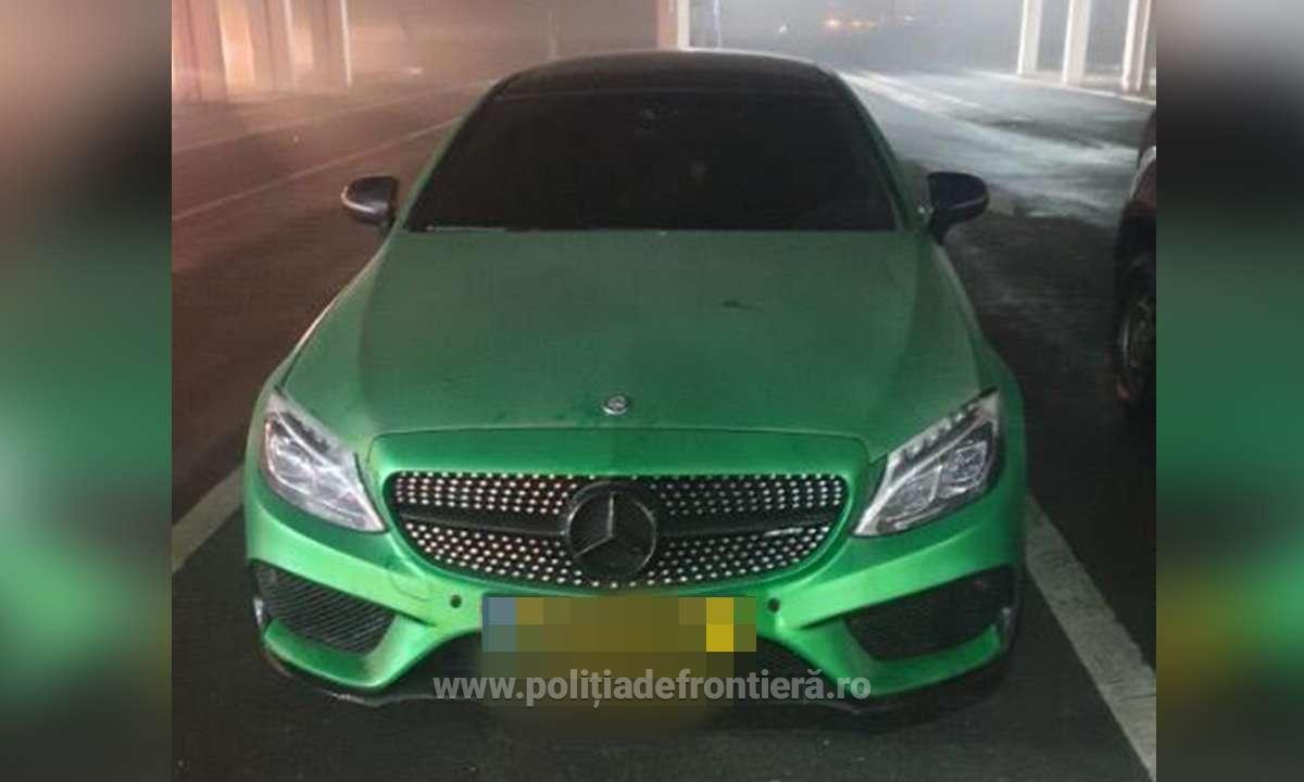 Mercedes de 50.000 de euro, confiscat la intarea în România