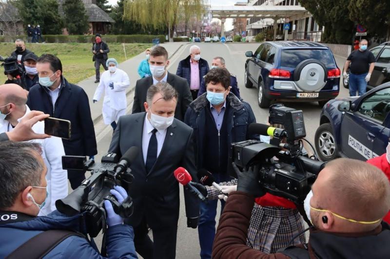 Vicepremierul Raluca Turcan și ministrul Sănătății, Nelu Tătaru, împreună în Sibiu