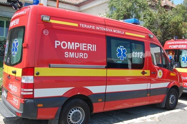 Accident rutier pe Calea Cisnădiei, o victimă transportată la spital
