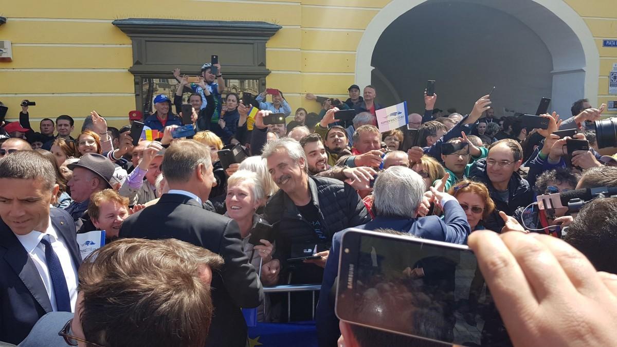 VIDEO Summit-ul de la Sibiu. Filmul zilei care a devenit istorie