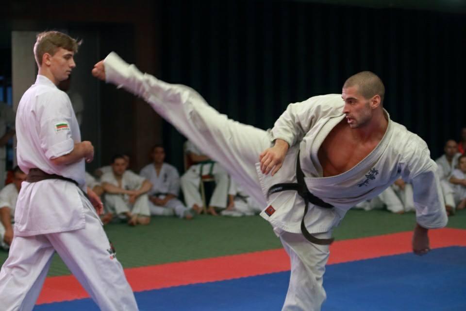 Campionat de karate kyokushin la Sala Transilvania