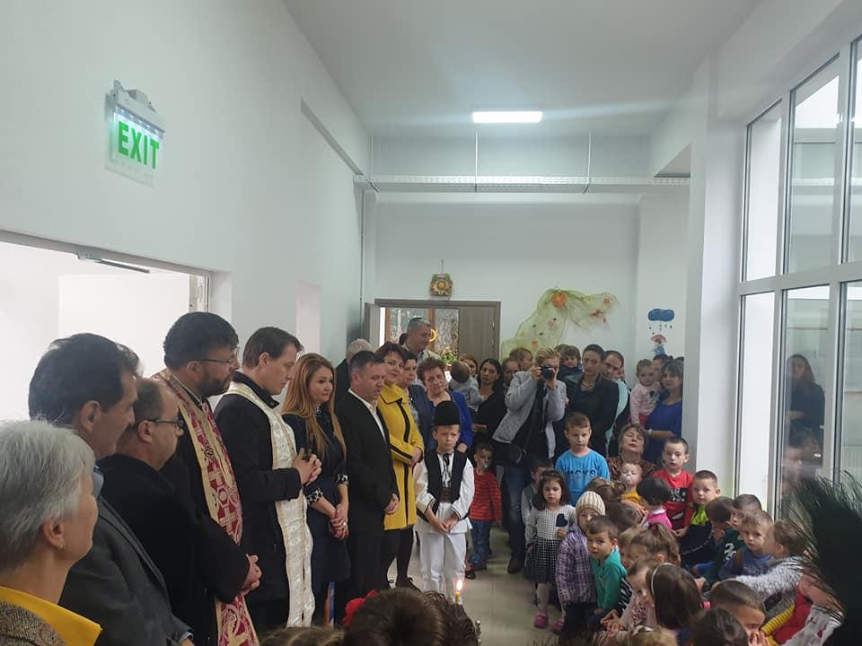 """Grădiniță construită la Rășinari, după zece ani. """"Principala investiție pe care trebuie să o facem este în copiii noștri"""""""