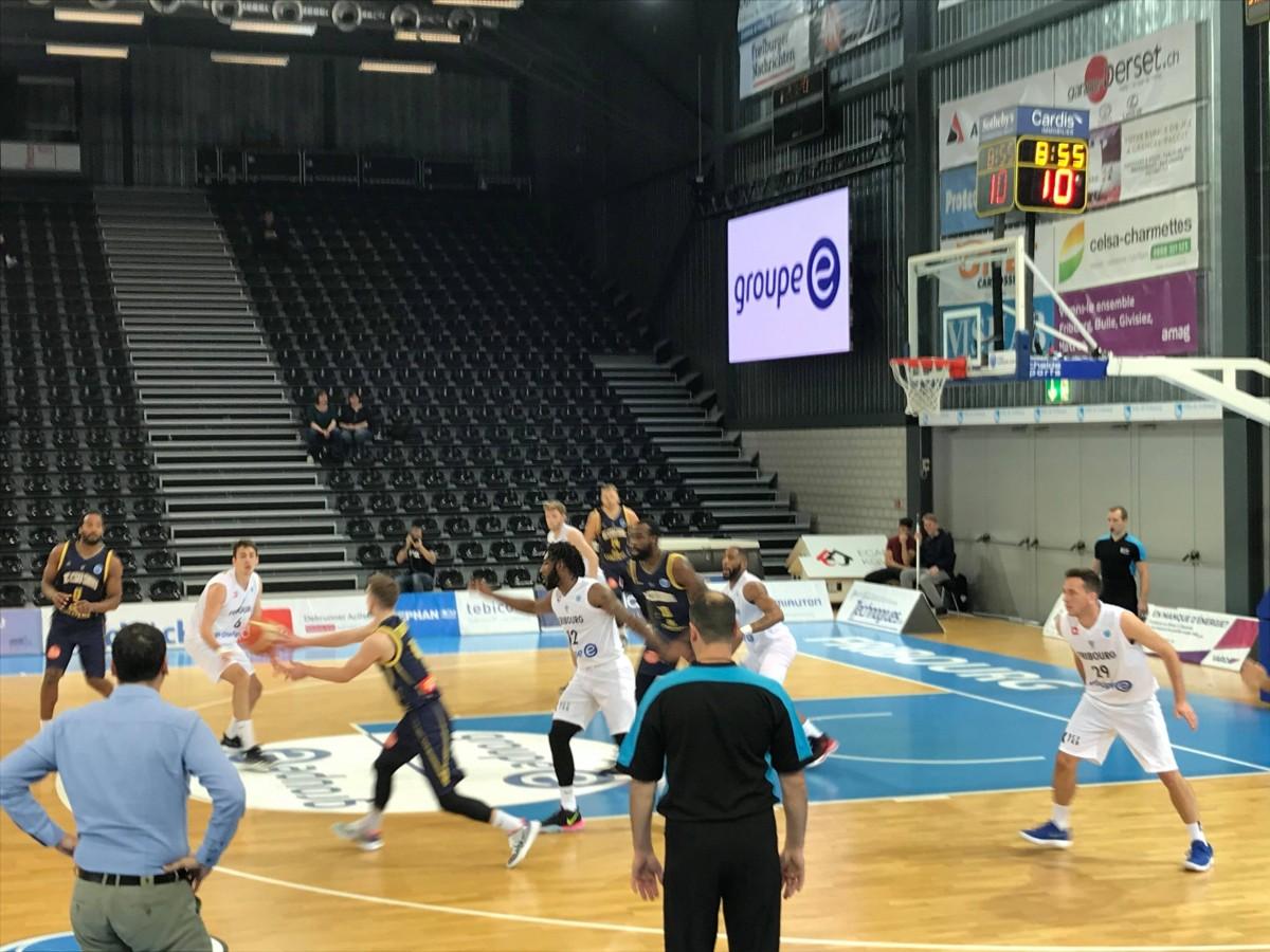 CSU Sibiu a bătut în deplasare, pe Fribourg, scor 91-69, în FIBA Europe Cup