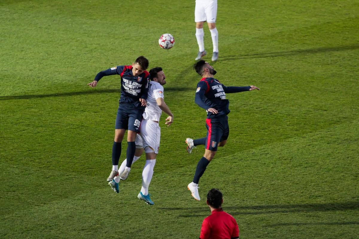 FC Hermannstadt începe bine play-out-ul și bate pe Chindia cu 1 la 0