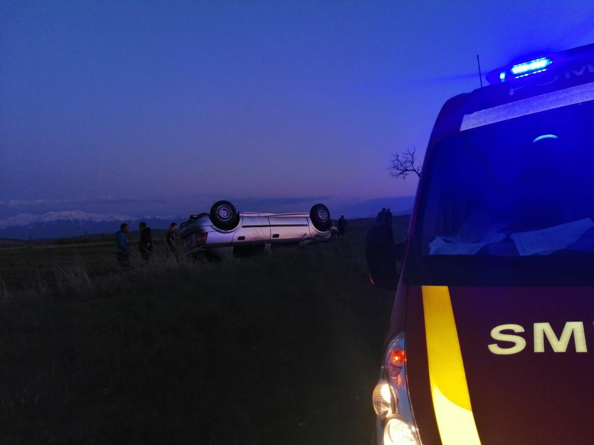 Șoferul care a decedat după ce s-a răsturnat cu mașina la Roșia era un polițistsibian