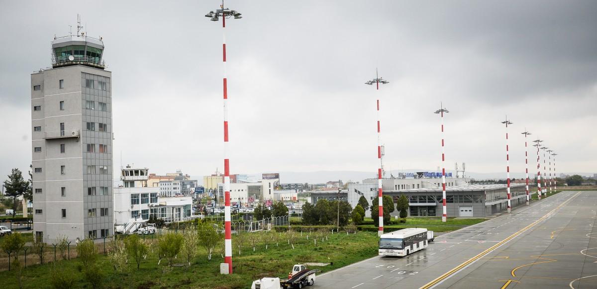 Noi zboruri suspendate temporar de pe Aeroportul International Sibiu