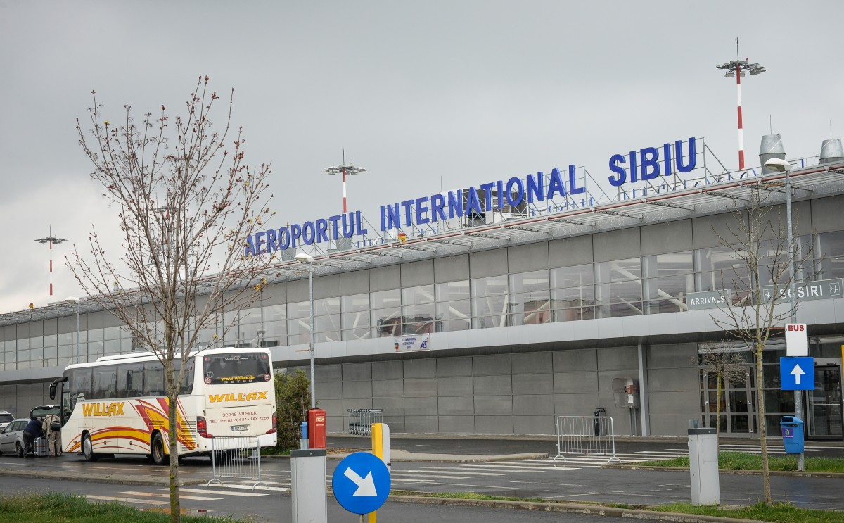 Jumătate din angajații Aeroportului Internațional Sibiu intră în șomaj tehnic