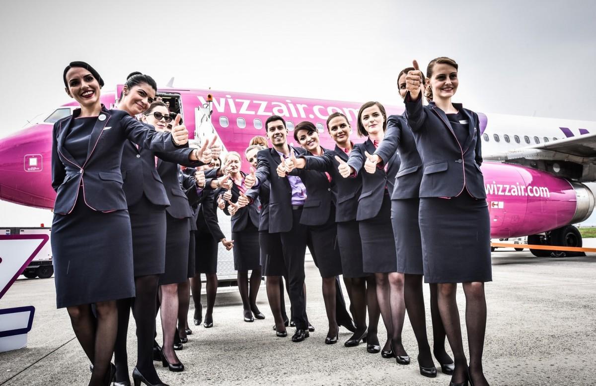 Wizz Air face angajări la Sibiu