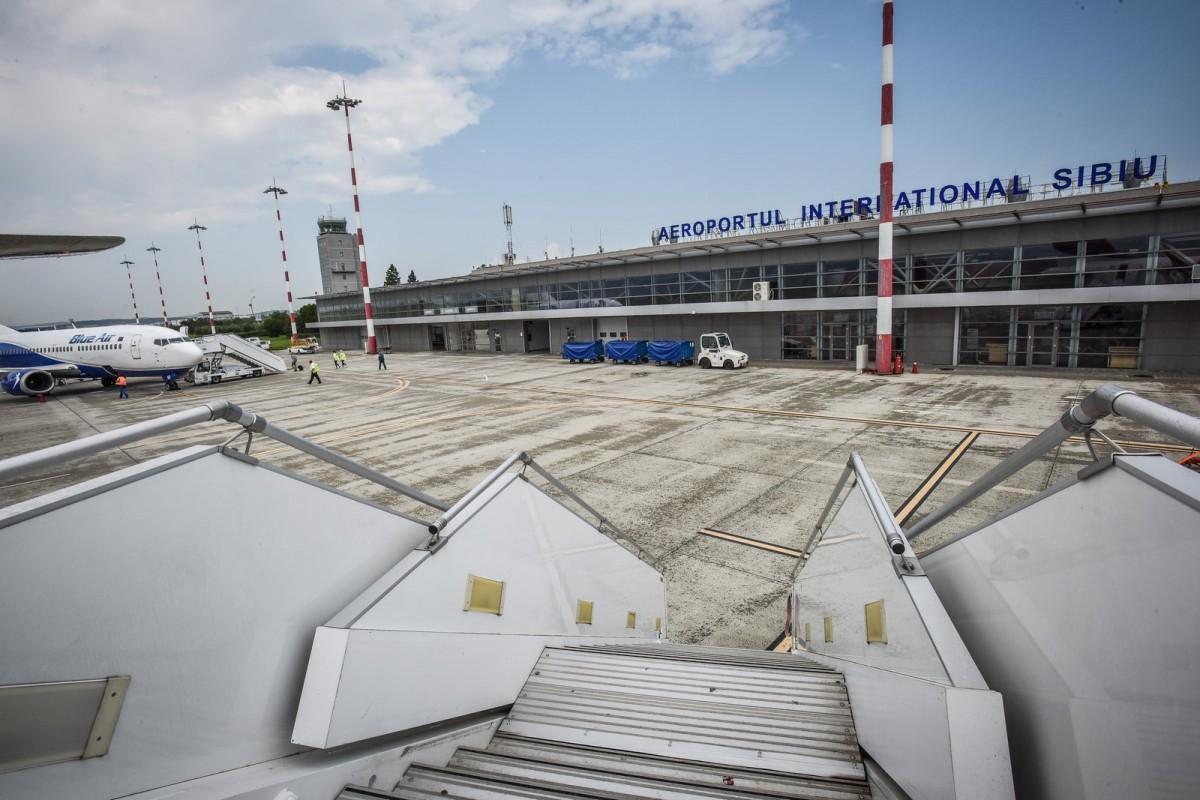Concurs cu sesizări la Aeroportul Sibiu: unui candidat îi sunt imputate prejudicii de 300.000 de lei