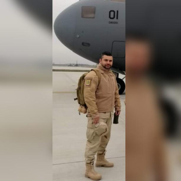 Un jandarm sibian a plecat în misiune în Afganistan
