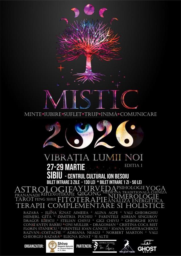 """Sibiul găzduiește cel mai mare eveniment ezoteric din centrul țării: """"MISTIC - 2020 Vibrația lumii noi!"""""""