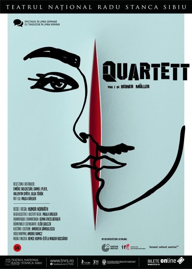 """Quartett"", la Teatrul Național Radu Stanca: un joc al travestiurilor, ingenios orchestrat"