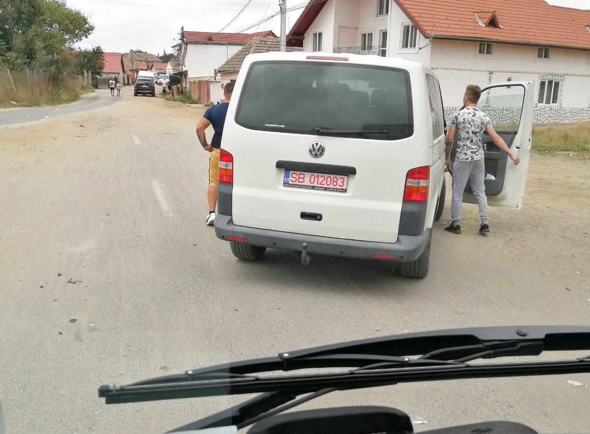 AUDIO Un șofer Tursib a fost bătut de sibieni care l-au urmărit în trafic